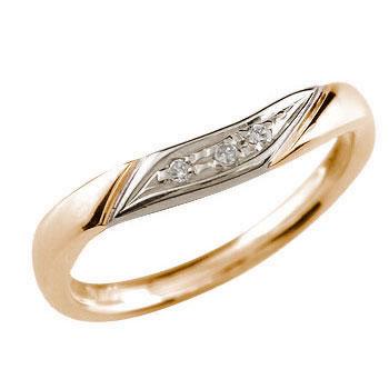婚約指輪 エンゲージリング ダイヤモンド ピンクゴールドk18 18金 ダイヤモンドリング ダイヤ ストレート 贈り物 誕生日プレゼント ギフト ファッション