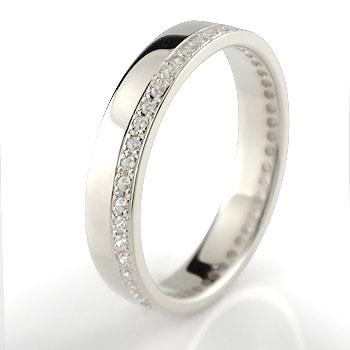 婚約指輪 フルエタニティ プラチナ ダイヤモンド エンゲージリング ダイヤ ストレート 贈り物 誕生日プレゼント ギフト ファッション 妻 嫁 奥さん 女性 彼女 娘 母 祖母 パートナー 送料無料