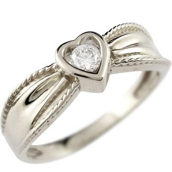 婚約指輪 エンゲージリング ハート ダイヤモンド リング 指輪 ホワイトゴールドk18 18金 ダイヤモンドリング ダイヤ ストレート 贈り物 誕生日プレゼント ギフト ファッション 妻 嫁 奥さん 女性 彼女 娘 母 祖母 パートナー 送料無料