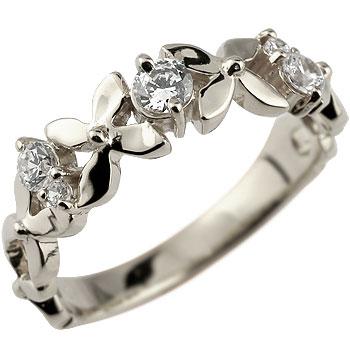 婚約指輪 エンゲージリング プラチナ ダイヤモンド リング ダイヤ フラワー 花 ダイヤモンドリング ストレート 贈り物 誕生日プレゼント ギフト ファッション 妻 嫁 奥さん 女性 彼女 娘 母 祖母 パートナー 送料無料