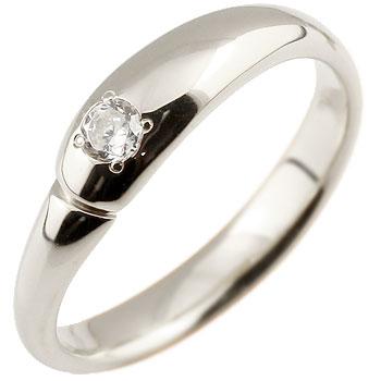 エンゲージリング 婚約指輪 ダイヤモンド リング 指輪 ダイヤモンドリング ダイヤ ピンキーリング ホワイトゴールドk18 18金 シンプル 一粒 ブライダルジュエリー ウエディング 贈り物 誕生日プレゼント ギフト 妻 嫁 奥さん 女性 彼女 娘 母 祖母 パートナー 送料無料