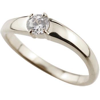 エンゲージリング 婚約指輪 一粒ダイヤモンド プラチナリング ダイヤ 大粒 指輪 ダイヤモンドリング ストレート 贈り物 誕生日プレゼント ギフト ファッション 妻 嫁 奥さん 女性 彼女 娘 母 祖母 パートナー 送料無料