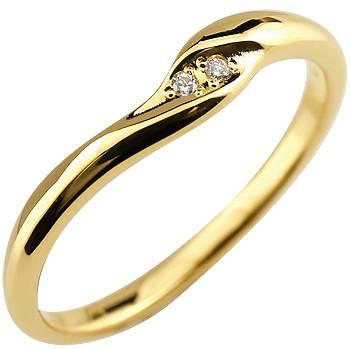 婚約指輪 エンゲージリング ダイヤモンドリング ダイヤ 指輪 イエローゴールドk18 18金 レディース ストレート 贈り物 誕生日プレゼント ギフト ファッション お返し