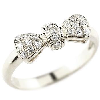 婚約指輪 エンゲージリング リボン プラチナ リング ダイヤモンド 指輪 ピンキーリング ダイヤ ダイヤモンドリング プラチナリング pt900 人気 レディース ブライダルジュエリー ウエディング 贈り物 ギフト 妻 嫁 奥さん 女性 彼女 娘 母 祖母 パートナー 送料無料