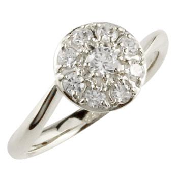 婚約指輪 エンゲージリング ダイヤモンドリング ダイヤ 指輪 取り巻き スパイラル ホワイトゴールドk18 18金 ストレート 贈り物 誕生日プレゼント ギフト ファッション 妻 嫁 奥さん 女性 彼女 娘 母 祖母 パートナー 送料無料