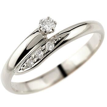 【送料無料】婚約指輪 エンゲージリング ダイヤモンド リング プラチナ 指輪 ピンキーリング ダイヤモンドリング ダイヤ ストレート レディース ブライダルジュエリー ウエディング 贈り物 誕生日プレゼント ギフト 妻 嫁 奥さん 女性 彼女 娘 母 祖母 パートナー