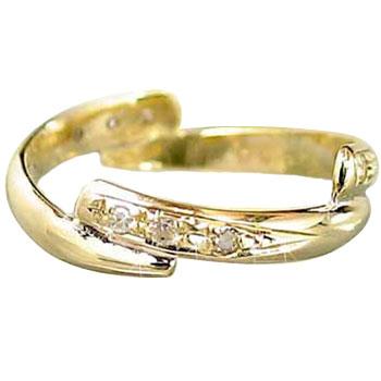 【送料無料】婚約指輪 ダイヤモンド リング イエローゴールドK18 指輪エンゲージリング 指輪 18金 ダイヤモンドリング ダイヤ ストレート 2.3 贈り物 誕生日プレゼント ギフト ファッション 18k
