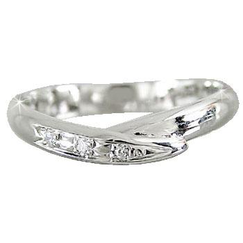 ダイヤモンド リング ホワイトゴールドK18 婚約指輪 エンゲージリング 指輪 18金 ダイヤモンドリング ダイヤ ストレート 2.3 プレゼント 女性 送料無料