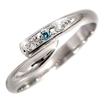 ピンキーリング ダイヤモンドリング ダイヤモンド プラチナリング;指輪 ダイヤ 4月誕生石 ストレート 2.3 宝石 送料無料