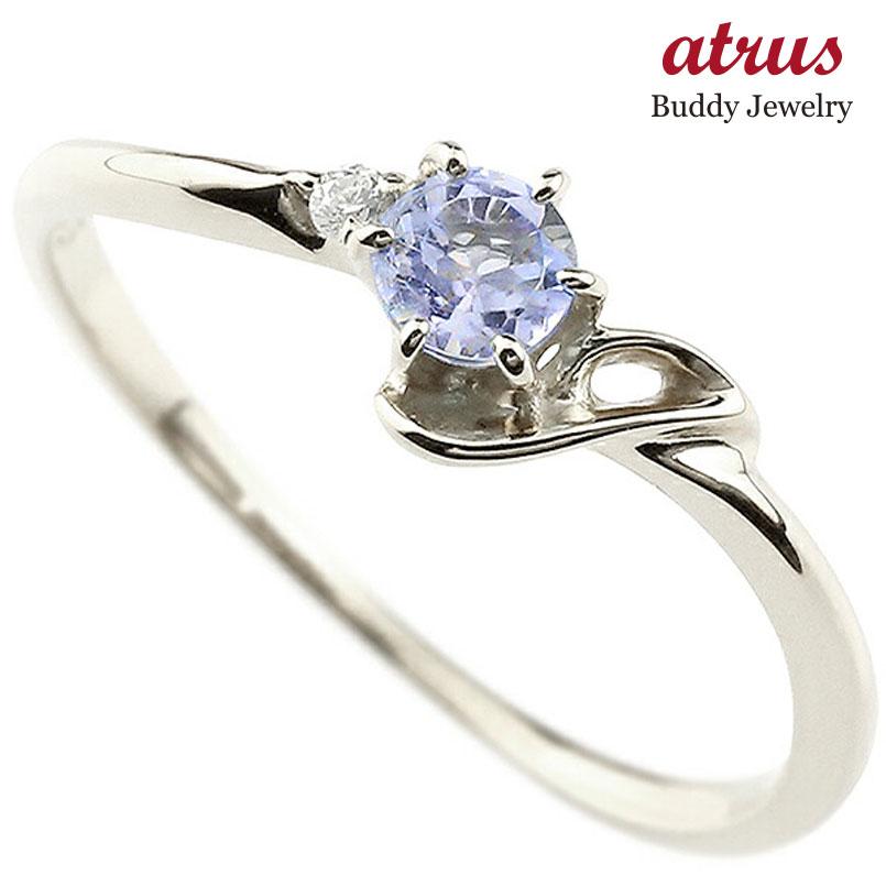 【送料無料】ピンキーリング エンゲージリング イニシャル ネーム J 婚約指輪 タンザナイト ダイヤモンド プラチナ 指輪 アルファベット レディース 12月誕生石 人気 ファッション お返し