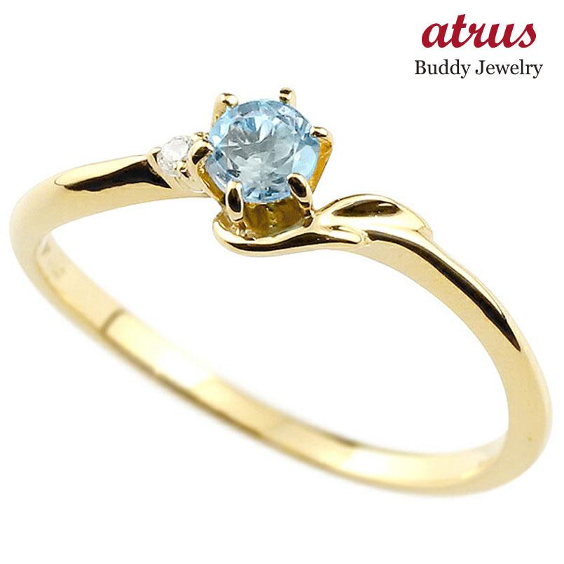 【驚きの値段で】 指輪 エンゲージリング イニシャル ネーム F 婚約指輪 ブルートパーズ ダイヤモンド イエローゴールドk10アルファベット 10金 レディース 11月誕生石 女性 の 送料無料, バリバリ家電 e3de6322