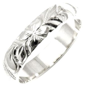 ハワイアンジュエリーリング オーダー 手彫り 人気 結婚 安値 ハワイアンジュエリー リング 18%OFF シルバー sv925 地金リング ハワイアンリング ストレート 送料無料 指輪