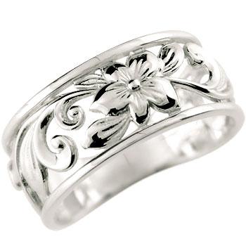 ハワイアンジュエリー リング リング 指輪 幅広 透かし シルバー ハワイアンリング 地金リング sv925 ストレート 贈り物 誕生日プレゼント ギフト ファッション