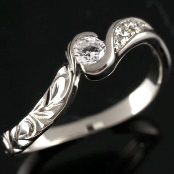 ハワイアンジュエリー リング ハワイアン キュービックジルコニア シルバーリング 指輪 ハワイアンリング sv925 ストレート 贈り物 誕生日プレゼント ギフト ファッション
