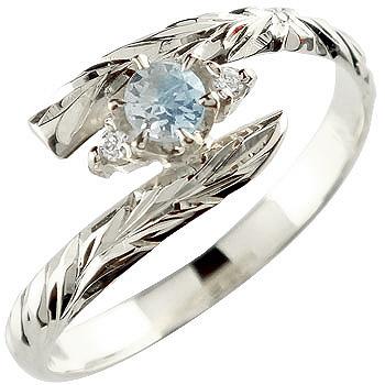 ハワイアンジュエリー リング プラチナ リング ブルームーンストーン 指輪 ハワイアンリング 6月誕生石 pt900 ストレート 贈り物 誕生日プレゼント ギフト ファッション