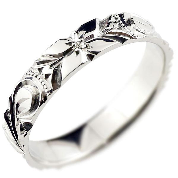【送料無料】ハワイアンジュエリー リング ダイヤモンド ハワイアンリング 指輪 プラチナリング ハワイ 一粒 pt900 ダイヤ ストレート 贈り物 誕生日プレゼント ギフト ファッション 妻 嫁 奥さん 女性 彼女 娘 母 祖母 パートナー