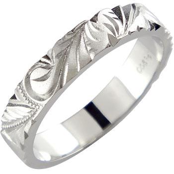 ピンキーリング ハワイアンジュエリー ハワイアンリング プラチナリング 指輪 プラチナ ハワイアンジュエリー 地金リング pt900 ストレート