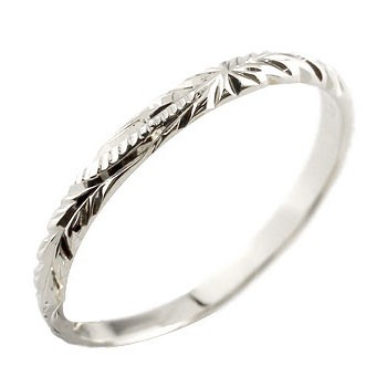 ピンキーリング ハワイアンジュエリー プラチナ リング 指輪 ハワイアンリング 地金リング pt900 ストレート2.3 妻 嫁 奥さん 女性 彼女 娘 母 祖母 パートナー
