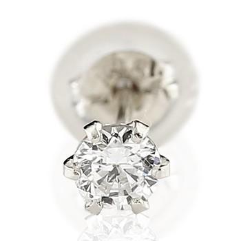 プラチナ ピアス ダイヤ 【あす楽】メンズピアス片耳ピアスダイヤモンド ピアスプラチナ900 ダイヤモンド 0.1ct4月の誕生石ダイヤモンド 片方の片側ピアスとしてダイヤ 男性用 宝石 あすつく ファッション エンゲージリングのお返し