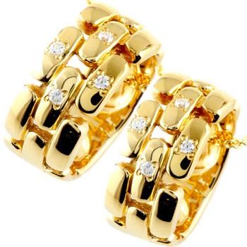 ペアネックレス ダイヤモンド ペンダント イエローゴールドk18 ダイヤ リングネックレス 18金 チェーン 人気 ストレート カップル 男性用 18k 送料無料