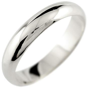 メンズ プラチナ リング 指輪 甲丸 ピンキーリング 地金リング 宝石なし ストレート 男性用 送料無料