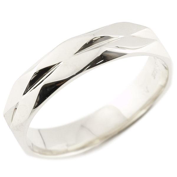 メンズ 指輪 プラチナ ダイヤ柄 リング 指輪 婚約指輪 カットリング 菱形 地金 pt900 贈り物 誕生日プレゼント ギフト エンゲージリングのお返し