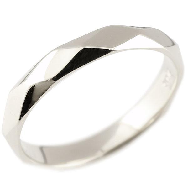 あなたを輝かせるシンボルリング 送料無料 メンズ リング 超人気 専門店 ホワイトゴールドk10 ダイヤ柄 婚約指輪 地金 指輪 10金 市販 カットリング 菱形