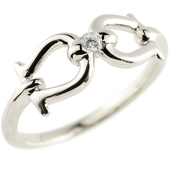 メンズ 鐙 馬具 キュービックジルコニア プラチナ リング 指輪 キュービック 一粒 キュービックジルコニアリング pt900 ホース 乗馬 男性用 贈り物 誕生日プレゼント ギフト エンゲージリングのお返し 父の日