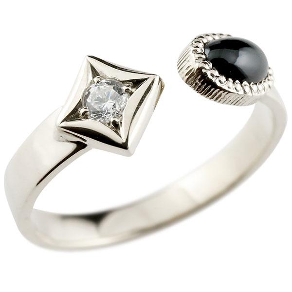 メンズ リング プラチナ オニキス リング 指輪 婚約指輪 pt900 ダイヤ柄 菱形 フリーサイズ 男性用 コントラッド 東京 贈り物 誕生日プレゼント ギフト エンゲージリングのお返し