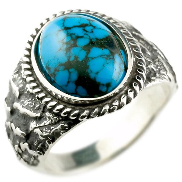 メンズ リング 幅広 シルバー ネットトルコ 大粒 指輪 婚約指輪 一粒 男性用 コントラッド 東京 エンゲージリングのお返し