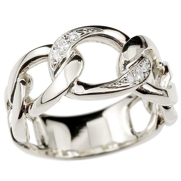 メンズ 喜平 リング ダイヤモンド プラチナ 喜平リング 指輪 pt900 キヘイ 鎖 ダイヤ 幅広 男性用 エンゲージリングのお返し