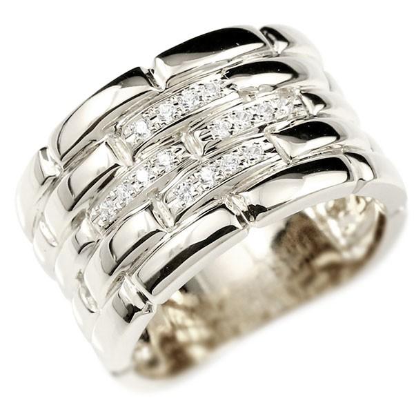 メンズ プラチナ ダイヤモンドリング メタルバンド 時計 指輪 リング ダイヤ pt900 男性用 幅広 人気 ストレート 送料無料 父の日