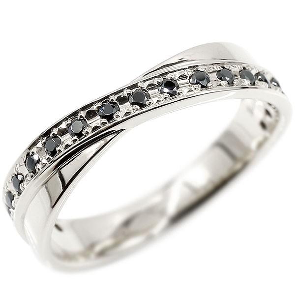 ボリューム感存在感ともに抜群 天然ダイヤモンドリング メンズ リング シルバー ブラックダイヤモンド ピンキーリング ブラックダイヤ 指輪 sv925 宝石 男性用 送料無料
