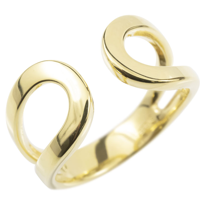 18金 リング メンズ ゴールド 指輪 18k イエローゴールドk18 フリーサイズ 婚約指輪 シンプル ピンキーリング 地金 男性 送料無料