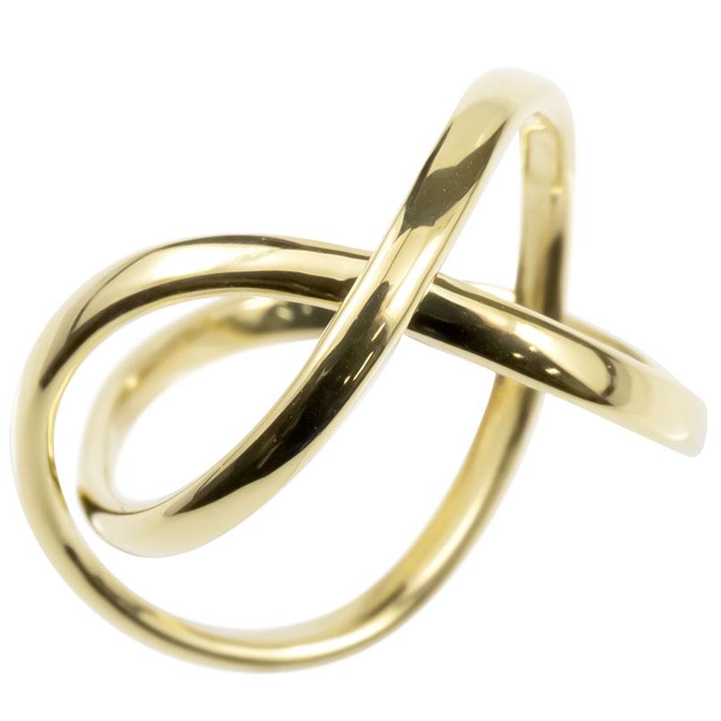 ゴールド リング メンズ 指輪 10k イエローゴールドk10 フリースタイル 婚約指輪 シンプル ピンキーリング 地金 男性 送料無料