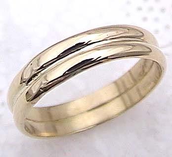 メンズリング 人気 K18 ピンキーリング 指輪 イエローゴールド 18金ストレート 男性用 送料無料