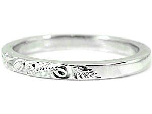 ハワイアンジュエリー メンズ ハワイアンリング 指輪 プラチナ900 プラチナリング スクロール 波 ハワイストレート 2 3 男性用 送料無料 父の日wvm8nN0