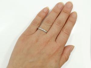 ハワイアンジュエリー メンズ ハワイアンリング 指輪 プラチナ900 プラチナリング スクロール 波 ハワイストレート 2 3 男性用 送料無料 父の日fgbyv6IY7