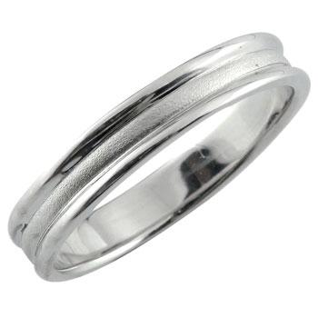 メンズリング 人気 指輪 リング ホワイトゴールドk18 18金ピンキーリング ストレート 男性用 送料無料 父の日
