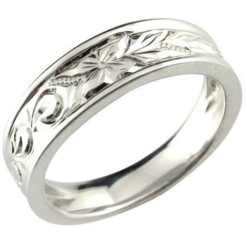 ハワイアンジュエリー メンズ ハワイアンリング 指輪 シルバーリング シルバー925 オリジナルリングストレート 男性用 送料無料