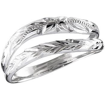 ハワイアンジュエリー メンズ ハワイアンリング ピンキーリング 指輪 シルバーリング シルバー925 オリジナルリングストレート 男性用 送料無料