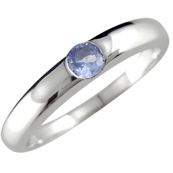 シチュエーションを選ばず着けられるハッピーリング メンズリング 人気 プラチナリング タンザナイト 指輪 カラーストーンリング プラチナピンキーリング ストレート 男性用 宝石 送料無料