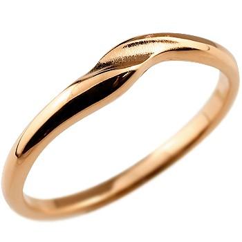 メンズジュエリー 10金 ダイヤモンドリング シンプル 人気 メンズ リング 指輪 ピンキーリング 地金リング ピンクゴールドk10 10金 つや消し シンプル 宝石なしストレート 男性用 送料無料