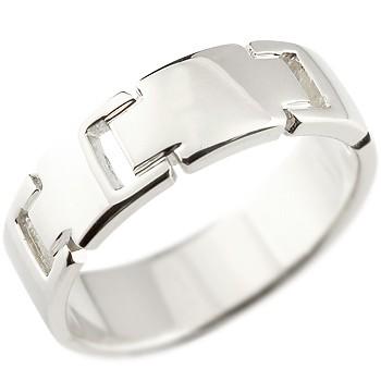 メンズ クロス プラチナリング 指輪 ピンキーリング 地金リング 幅広指輪 十字架 シンプル 宝石なし pt900ストレート 男性用 送料無料