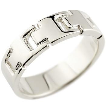 メンズ プラチナリング 指輪 ピンキーリング 地金リング 幅広指輪 シンプル 宝石なし pt900ストレート 男性用 送料無料