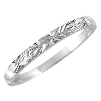 ハワイアンジュエリー メンズ エンゲージリング ハワイアンリング ハードプラチナ950リング 指輪 婚約指輪 pt950 ストレート 送料無料