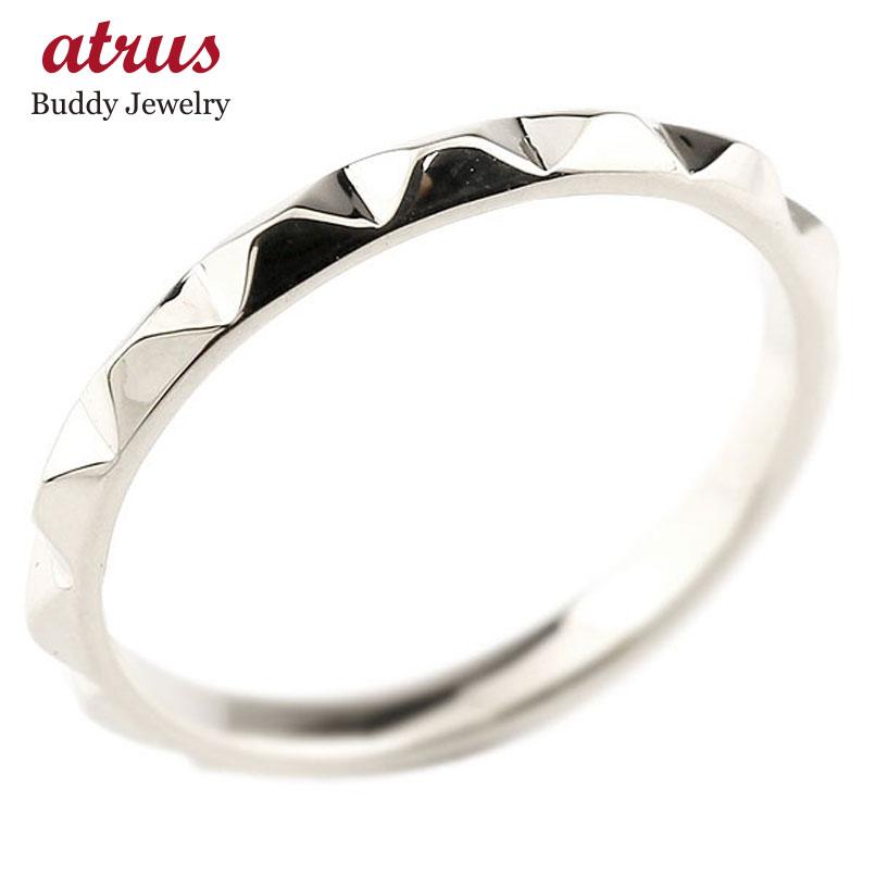 メンズ プラチナ 指輪 レディース 地金リング 送料無料 父の日