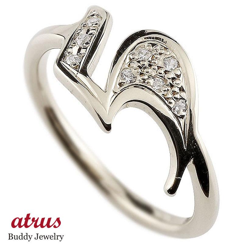 メンズ ピンキーリング キュービックジルコニア ナンバー5 プラチナ pt900 リング 指輪 数字 ストレート 男性 送料無料