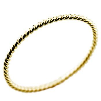 メンズ リング ピンキーリング イエローゴールドk18 指輪 メンズリング 18金ピンキーリング 上質 送料無料カード決済可能 ストレート 送料無料 男性用 人気