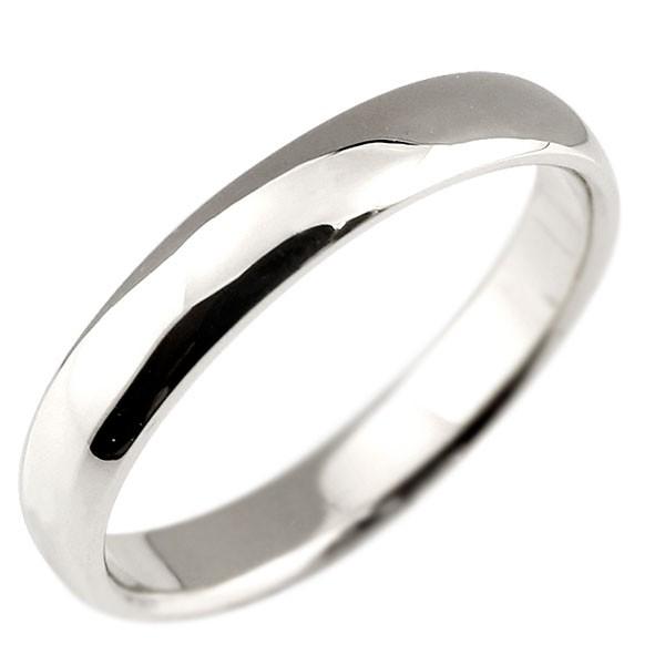 メンズ ハードプラチナリング 指輪 ピンキーリング 地金リング 甲丸 シンプル 宝石なし pt950 男性用 送料無料